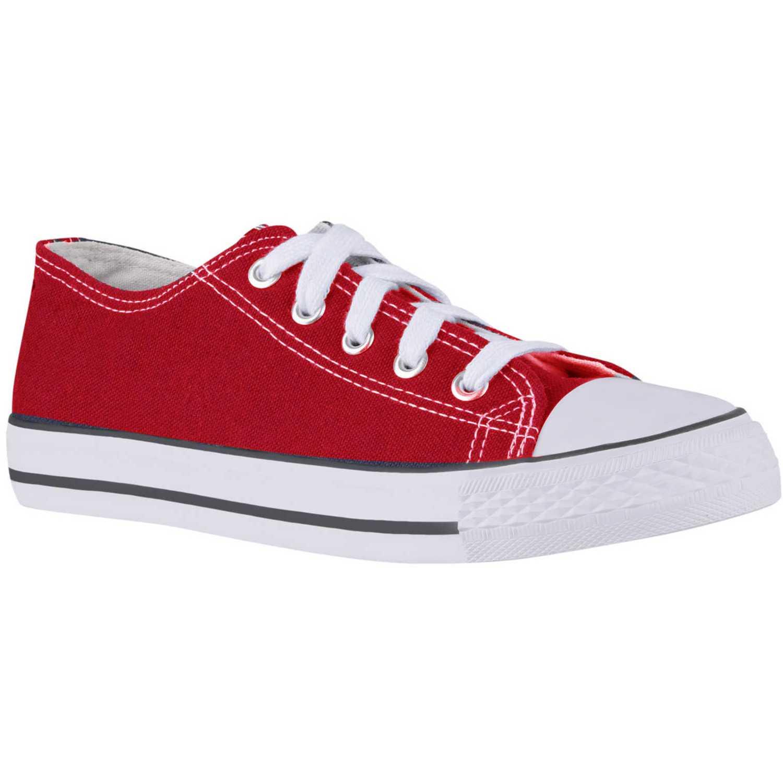 Zapatilla de Mujer Just4u Rojo zc-418