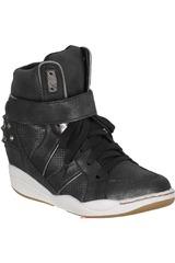 Platanitos Negro de Mujer modelo ZB 213607 Zapatillas casual Botínes Casual Zapatillas