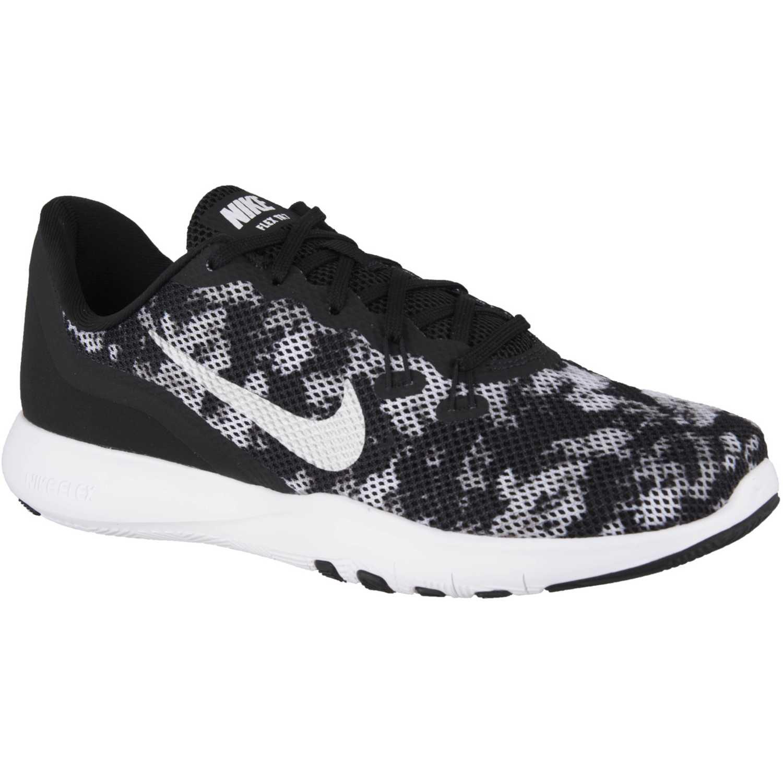 9c6a3f7a15b Zapatilla de Mujer Nike Negro  gris w flex trainer 7 print ...