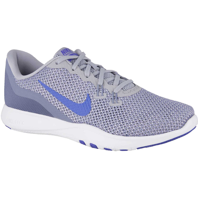 da86e027cb0 Zapatilla de Mujer Nike Gris   morado w flex trainer 7