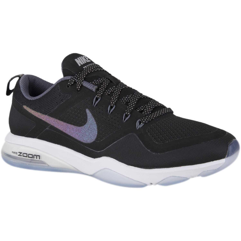 Zapatilla de Mujer Nike Negro   blanco w air zoom fitness mtlc ... eea03154e5d