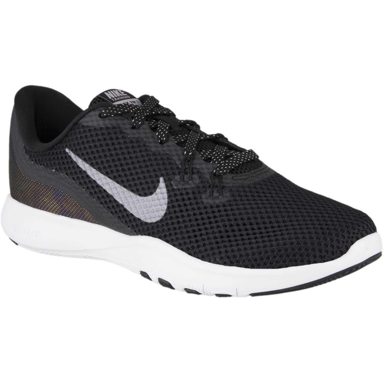 size 40 3e25f 145bc de w flex Negro Zapatilla trainer Nike 7 mtlc Mujer Gris SqTvwdX