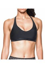 Under Armour Negro de Mujer modelo Armour Low Strappy Tops Deportivo