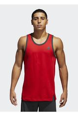 adidas Negro / Rojo de Hombre modelo SPORT TANK Bividis Deportivo