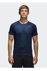 adidas Azul / Blanco de Hombre modelo D2M TEE PL Polos Deportivo