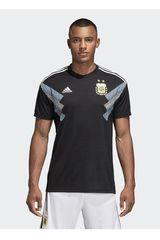 adidas Negro / Azul de Hombre modelo AFA A JSY Camisetas Deportivo Polos