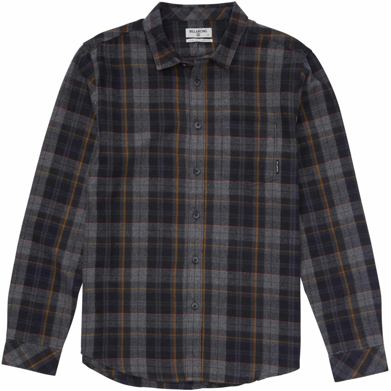 Camisa de Hombre Billabong Negro coastline flannel