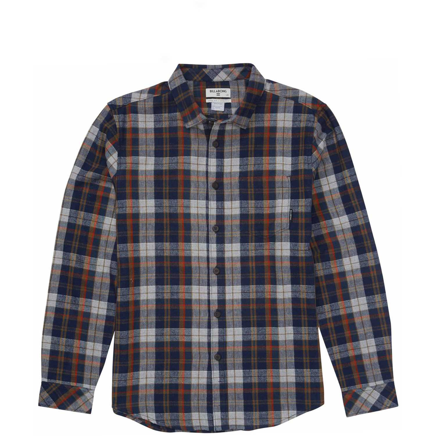 Camisa de Hombre Billabong Navy coastline flannel