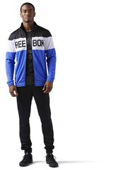 Reebok Negro / Azulino de Hombre modelo TS CUFFED TRACKSUIT Buzos Deportivo
