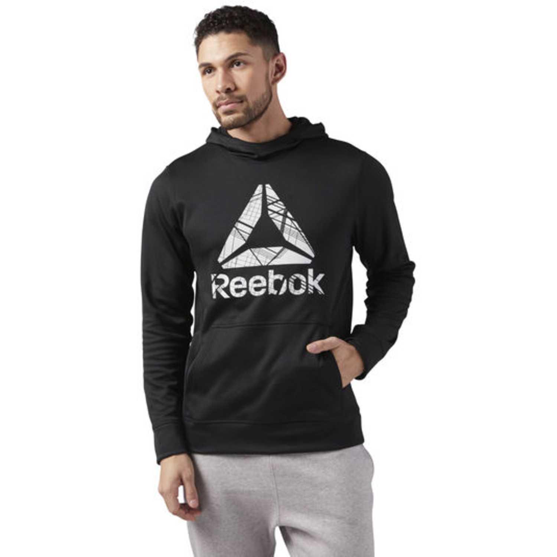 Polera de Hombre Reebok Negro wor comm oth hoodie