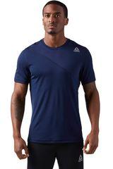 Reebok Azul / Blanco de Hombre modelo WOR TECH TOP Polos Deportivo