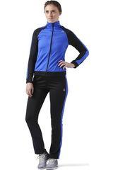 Reebok Negro / Azulino de Mujer modelo EL TS TRICOT Buzos Deportivo