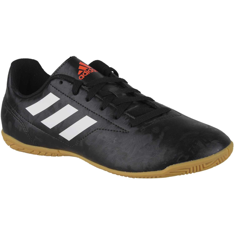 Zapatilla de Jovencito Adidas Negro / blanco conquisto ii in j