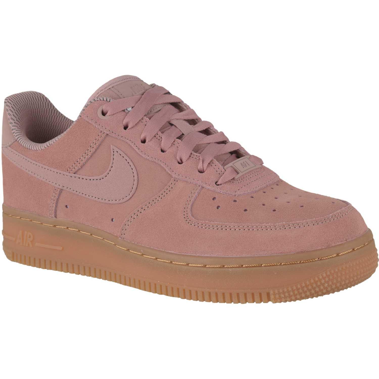 dd4213a9 ... cuero rosado negro air force hombres 6cb87 25888; sale zapatilla de mujer  nike rosado marrón wmns air force 1 07 se 807cd 94441