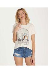 Billabong Blanco de Mujer modelo DESERT SUNSET Polos Casual