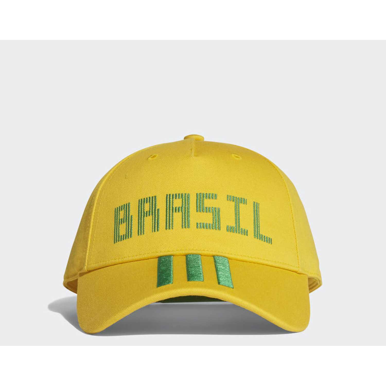 Gorro de Hombre Adidas Amarillo / verde cf cap bra