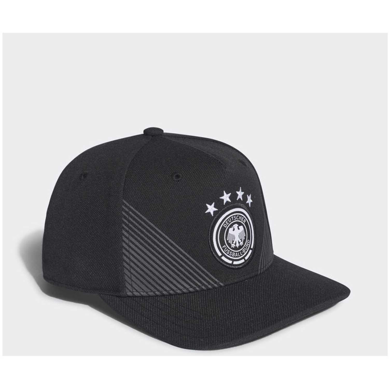 Gorro de Hombre Adidas Negro / blanco dfb home fl cap