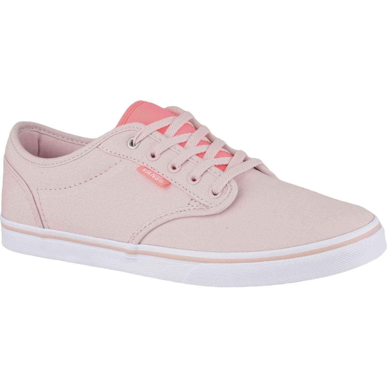 Zapatilla de Mujer Vans Rosado   blanco atwood low  6a9b3255ef0