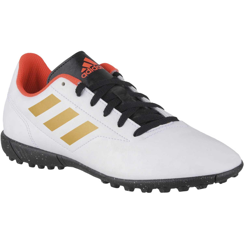 Zapatilla de Jovencito Adidas Blanco / dorado conquisto ii tf j