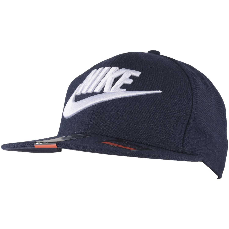 Gorro de Hombre Nike Azul   blanco nike true-snapback  aa5090e3781