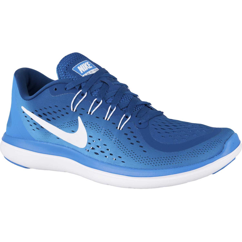 Zapatilla de Hombre Nike Azul / celeste flex 2017 rn