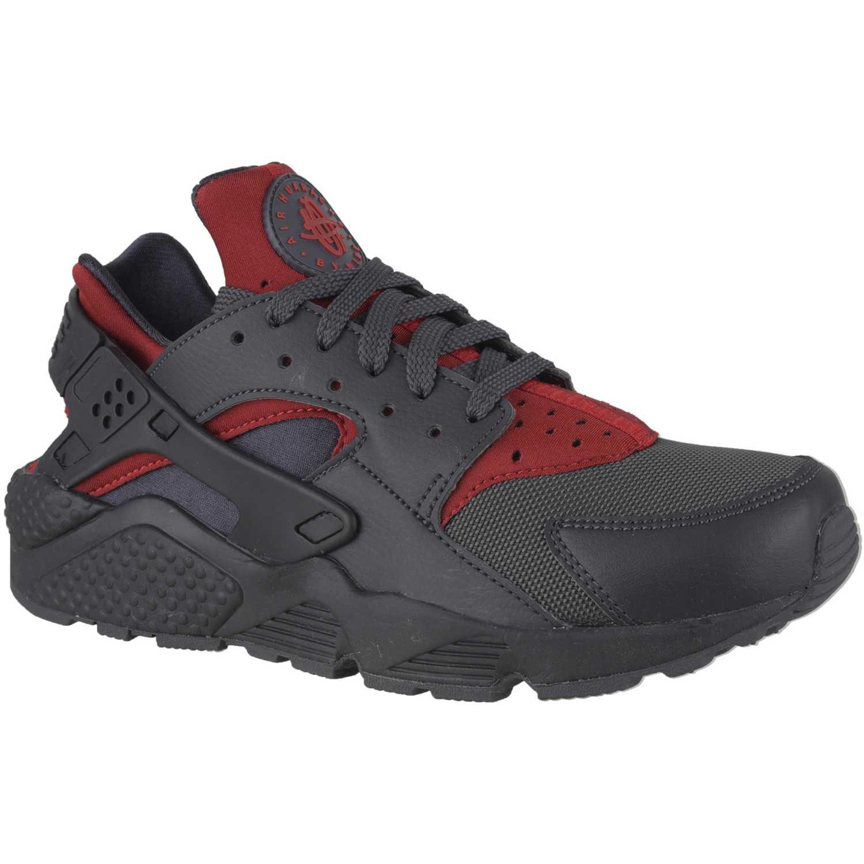 on sale 35fbe 7c29a Zapatilla de Hombre Nike Plomo  rojo air huarache run