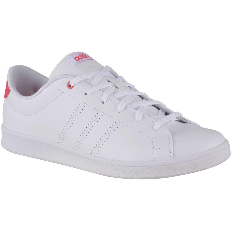 competitive price 759a9 81d45 Zapatilla de Mujer adidas NEO Blanco   Rosado advantage clean qt