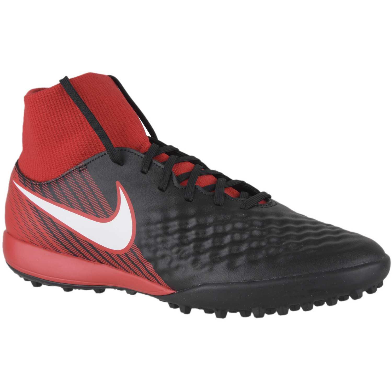 best service 50e79 3c70b Zapatilla de Hombre Nike Negro   rojo magistax onda ii df tf