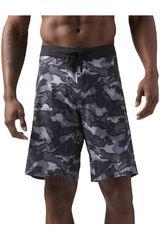 Reebok Varios de Hombre modelo RC SN Core- Splash Camo Deportivo Shorts