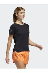 Adidas Negro de Mujer modelo RS SS TEE W Deportivo Camisetas