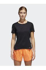 adidas Negro de Mujer modelo RS SS TEE W Camisetas Deportivo