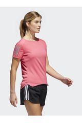 Adidas Rosado de Mujer modelo RS SS TEE W Deportivo Camisetas