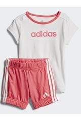 Buzo de Niña Adidas I SU EASY G SET Blanco / rosado