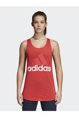 Adidas Rojo de Mujer modelo ESS LIN LO TANK Deportivo Bividis