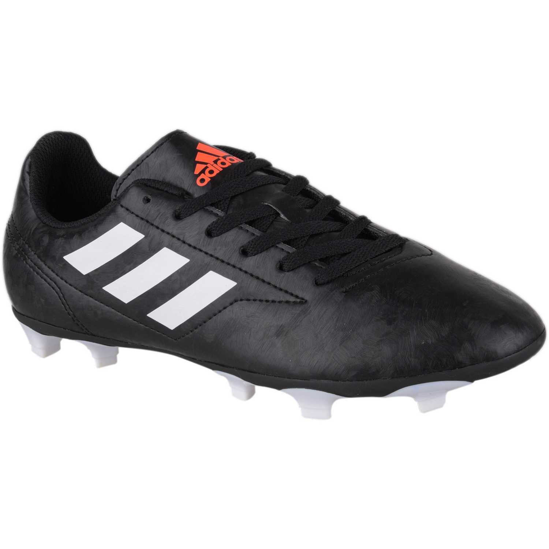 sports shoes 278b1 b19d5 Zapatilla de Jovencito Adidas Negro  blanco conquisto ii fg j
