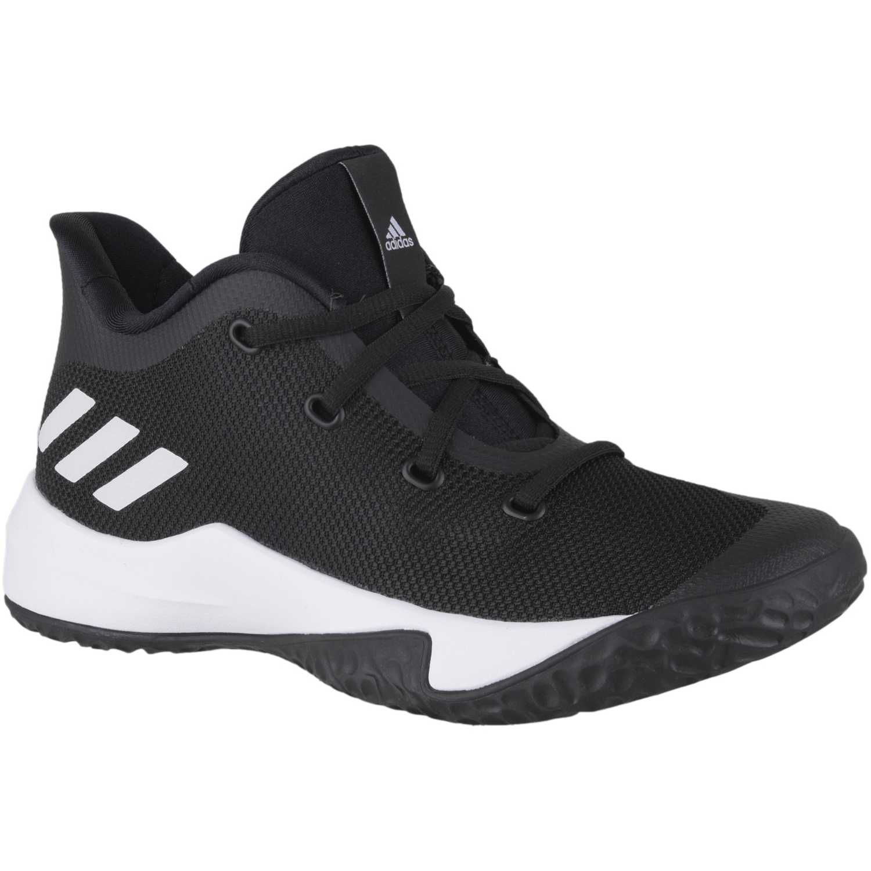 new concept 3311e ea4f9 Zapatilla de Jovencito Adidas Negro  blanco rise up 2 k
