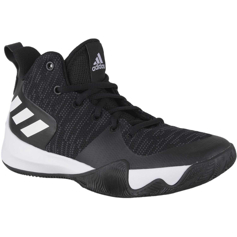 promo code 3cdf1 25275 Zapatilla de Jovencito adidas Negro  Blanco explosive flash k