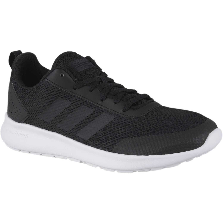 outlet store 5f417 85227 Zapatilla de Hombre Adidas Negro  plomo element race