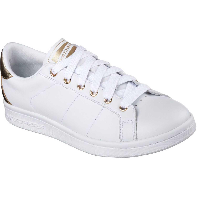 Zapatilla de Mujer Skechers Blanco 720