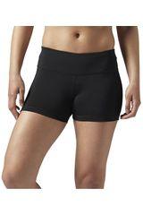 Reebok Negro de Mujer modelo WOR HOT SHORT Shorts Deportivo