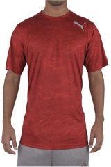 Puma Rojo / Blanco de Hombre modelo ESSENTIAL TECH GRAPHIC TEE Polos Deportivo