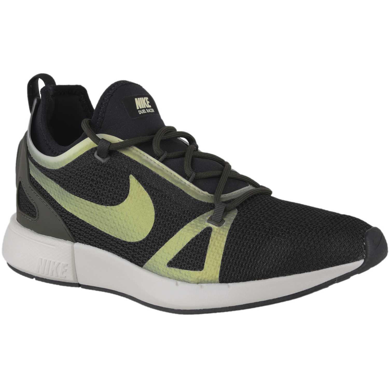 Zapatilla de Hombre Nike Negro / Verde duel racer