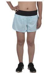Reebok Celeste de Mujer modelo US 4IN WOVEN SHORT S Deportivo Shorts