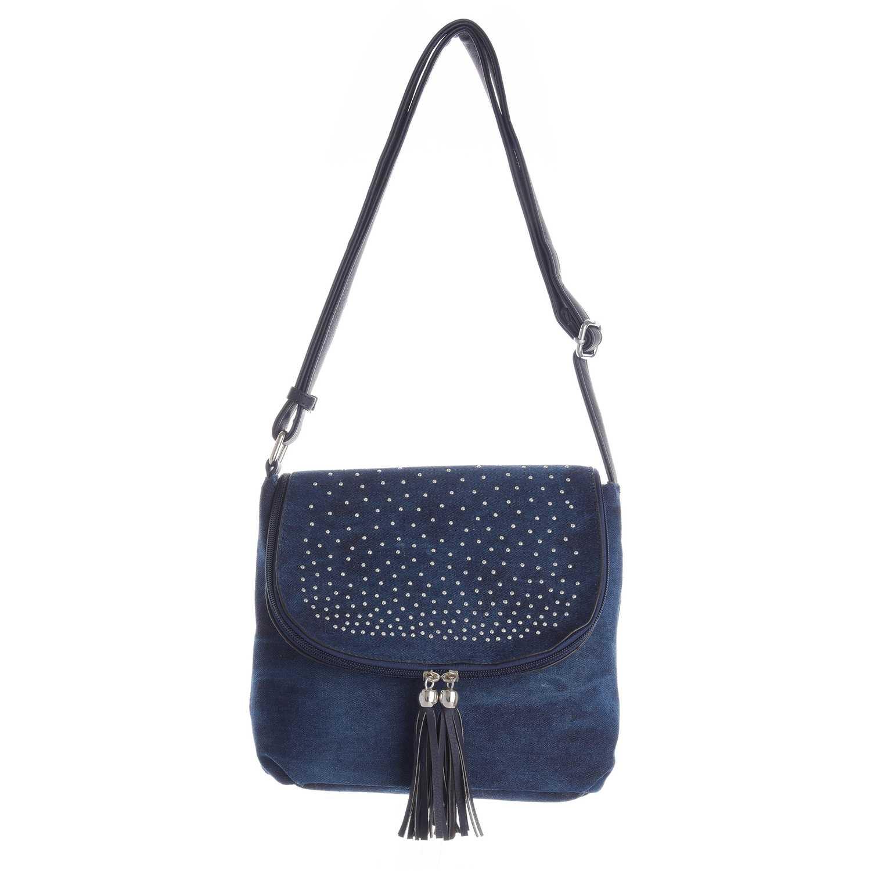 Cartera Casual de Mujer Platanitos Azul dl059-3