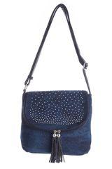 Cartera Casual de Mujer Platanitos DL059-3 Azul