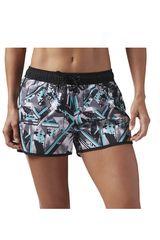 Reebok Negro / turquesa de Mujer modelo WOR WOVEN SHORT- WINGDI Shorts Deportivo
