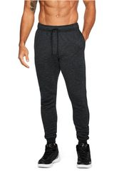Under Armour Gris de Hombre modelo UA Baseline Tapered Pant Pantalones Deportivo