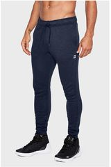 Under Armour Navy de Hombre modelo UA Baseline Tapered Pant Deportivo Pantalones