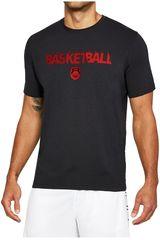 Under Armour Azul / Rojo de Hombre modelo Basketball Wordmark SS Polos Deportivo