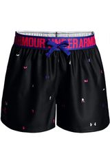 Under Armour Azul / rojo de Niña modelo Printed Play Up Short Shorts Deportivo